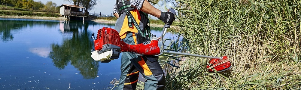 Efco Grass Trimmers, Brush Cutters & Attachments