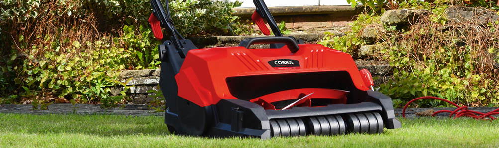 Electric Cylinder Lawn Mowers