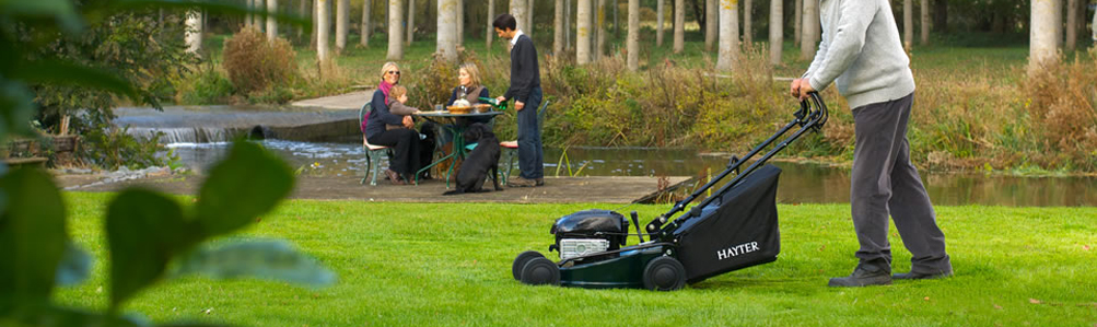 Hayter Four Wheel Petrol Lawn Mowers