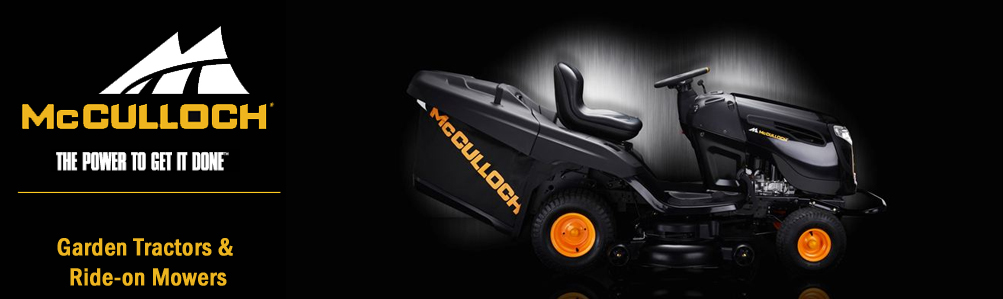 McCulloch Garden Tractors & Ride-On Mowers