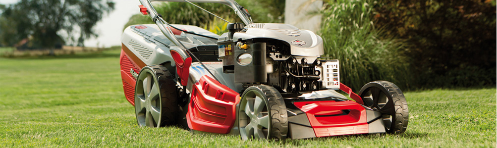 Petrol 4-Wheel Rotary Lawn Mowers