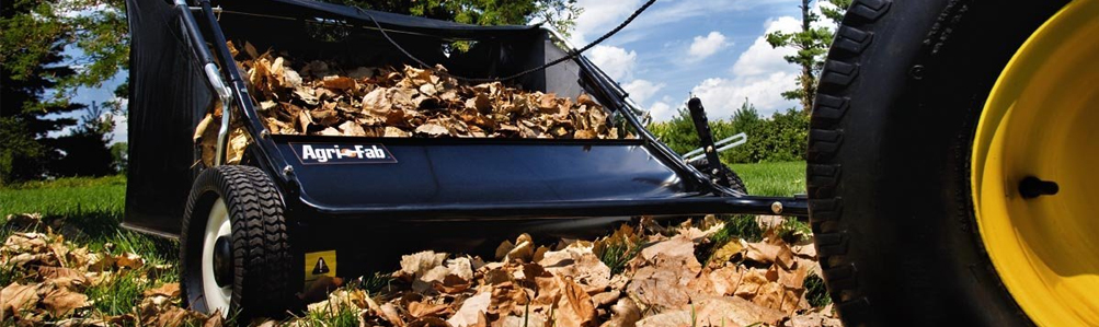 Towed Lawn Sweepers & Leaf  Collectors