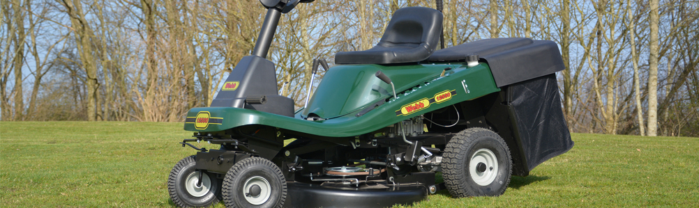 Webb Lawn Tractors and Ride-On Mowers