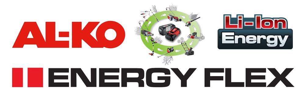 AL-KO EnergyFlex 36V Cordless Series