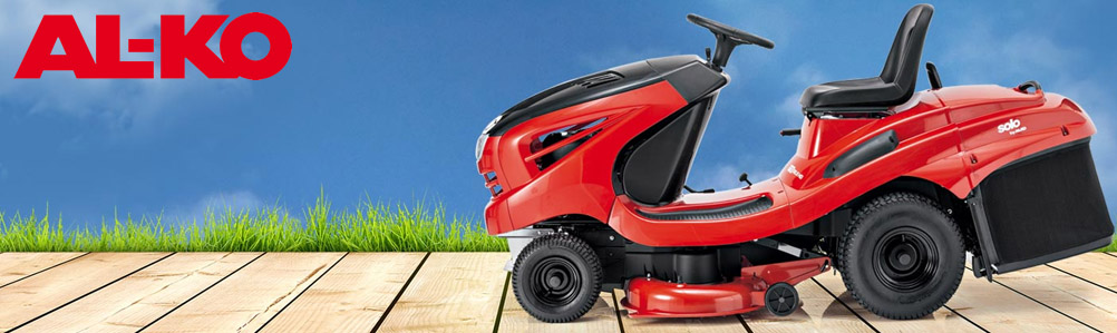 solo by AL-KO Lawn Tractors, Ride-On Mowers & Outfront Mowers
