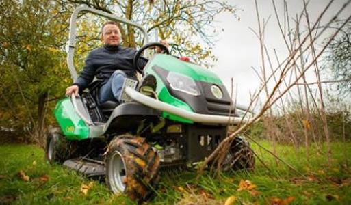 All Terrain Garden Tractors