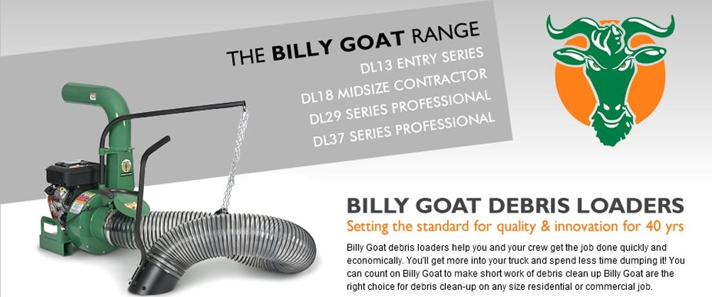 Billy Goat Debris Loaders