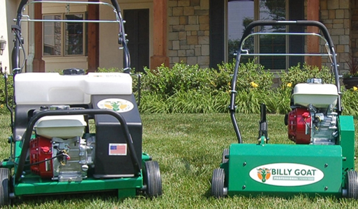 Billy Goat Lawn Scarifiers, Plugr® Aerators and Overseeders
