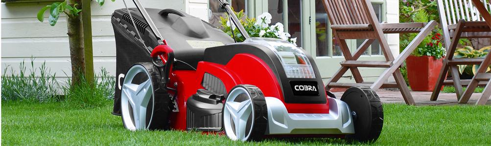 Cobra Li-Ion Cordless Lawn Mowers