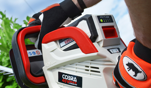 Cobra Li-Ion Cordless Range: Green Power To The People