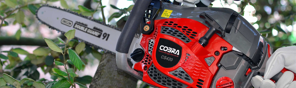 Cobra Chainsaws and Pole Pruners