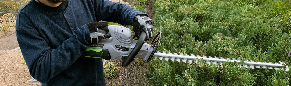 Cordless Hedge Trimmers - Short Reach