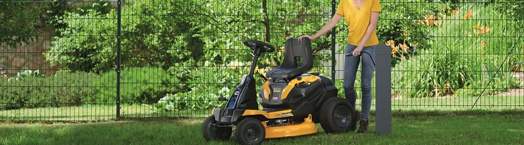 Cordless Lawn Tractors & Ride-On Mowers