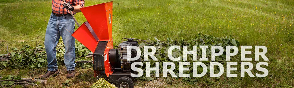 DR Chippers and Chipper Shredders