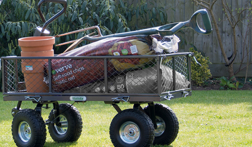 Wheelbarrows, Hand Carts & Powerwagons