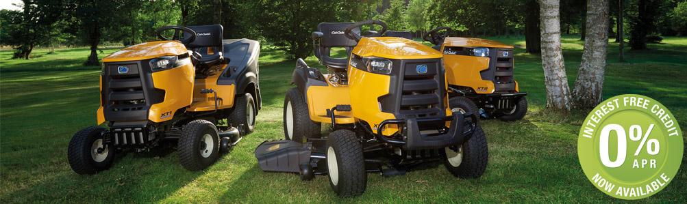 Lawn Tractors & Ride-On Lawn Mowers