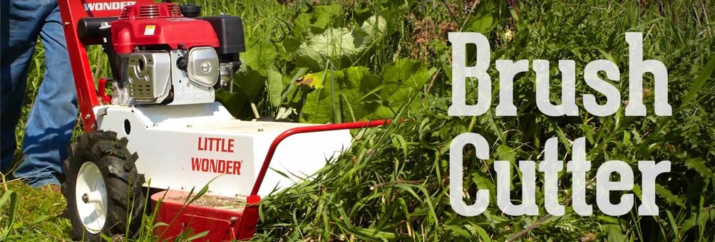 Little Wonder Field & Brush Mower | Wheeled Brush Cutter