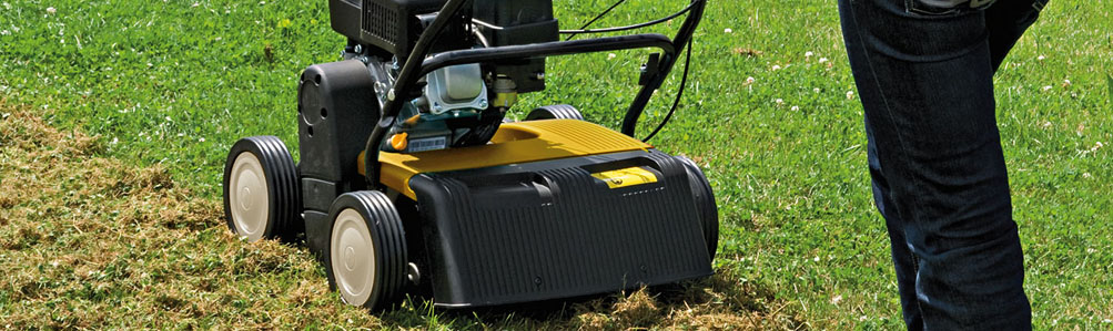 Petrol Lawn Scarifiers & Aerators