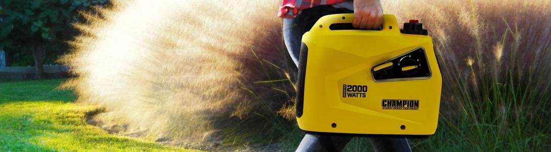 Petrol & LPG Dual Fuel Portable Suitcase Generators