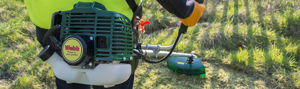 Webb Grass Trimmers and Brush Cutters