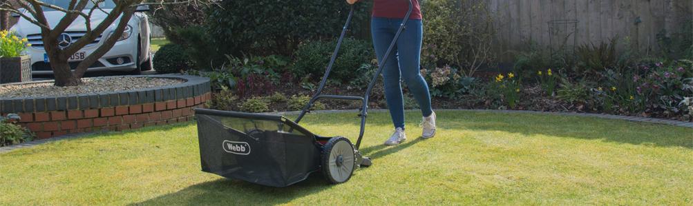 Webb Hand Lawn Mowers