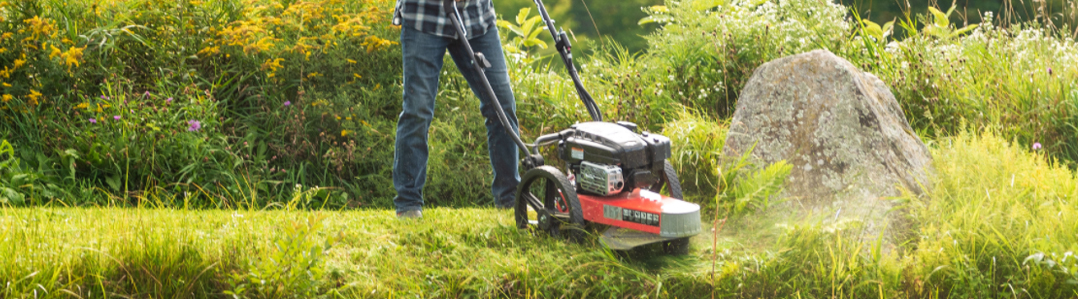 Wheeled Trimmer Mowers