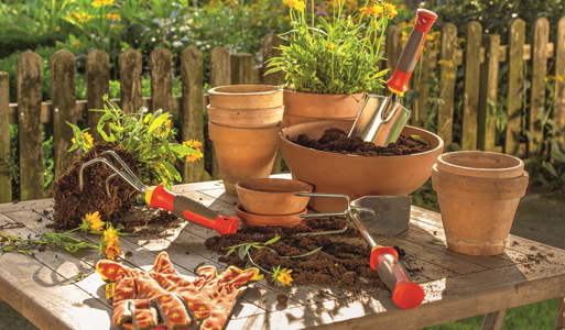 WOLF-Garten Hand Tool Planting, Cultivating & Weeding Range with Fixed Handle