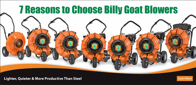 7 reasons to choose Billy Goat Force blowers