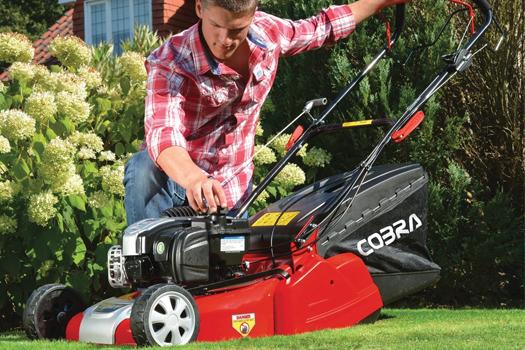 Cobra RM46SPBR Self-Propelled Rear Roller Petrol Lawn Mower