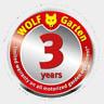 WOLF-Garten 3 year warranty