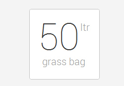 50 litre grass bag