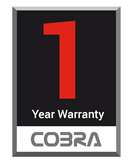 Cobra Garden one year warranty