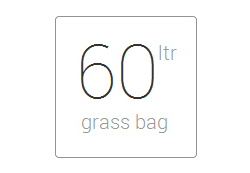 60 litre grass bag