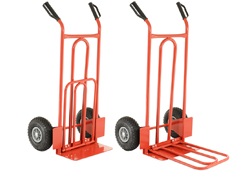Cobra ST210 Sack Trolley fixed and folding toe plates