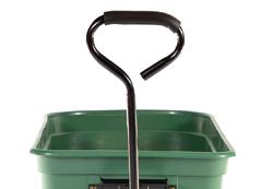 Garden cart with 'Soft Grip' handle bar