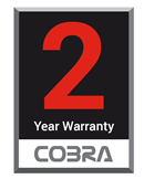Cobra two year warranty