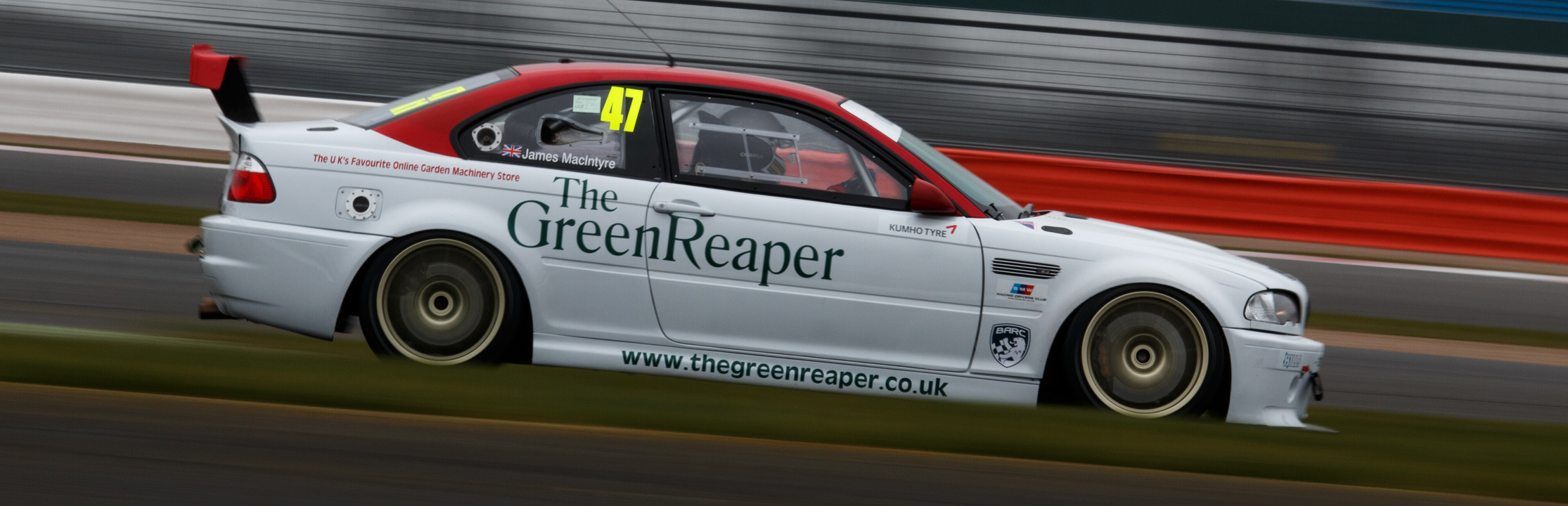 The Green Reaper Motorsport at Silverstone GP, March 2016