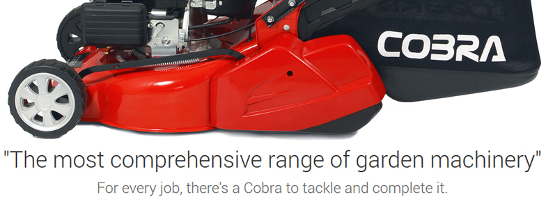 Cobra banner lawnmower